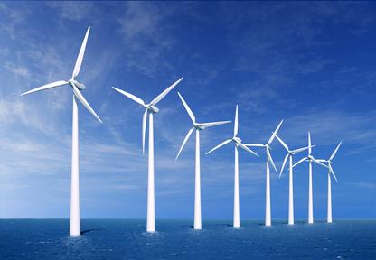 Energia odnawialna, farmy wiatrowe